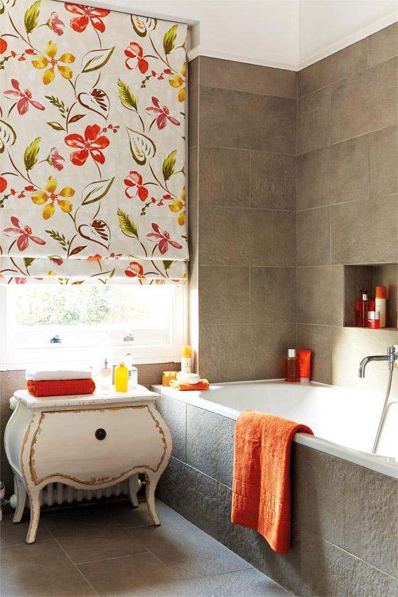 Bathroom Blinds Shades Reading Berkshire - Roman blind bathroom
