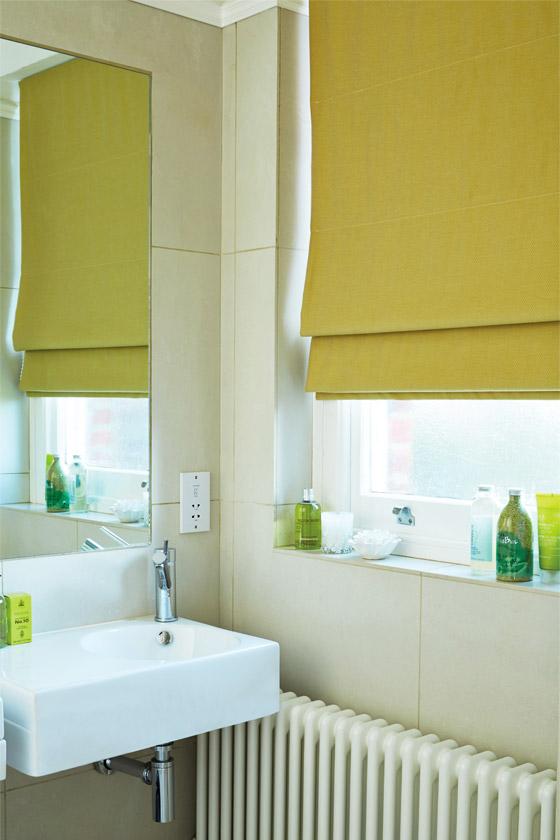 Bathroom Blinds. Liberty Chartreuse Bathroom Blinds  Shades Reading Berkshire
