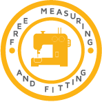 Free Measuring & Fitting on Blinds and Curtains