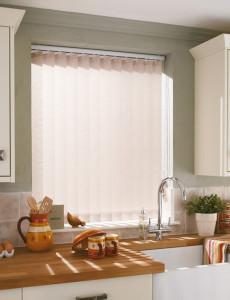 Vertical Blinds for Kitchen - Collette Natural