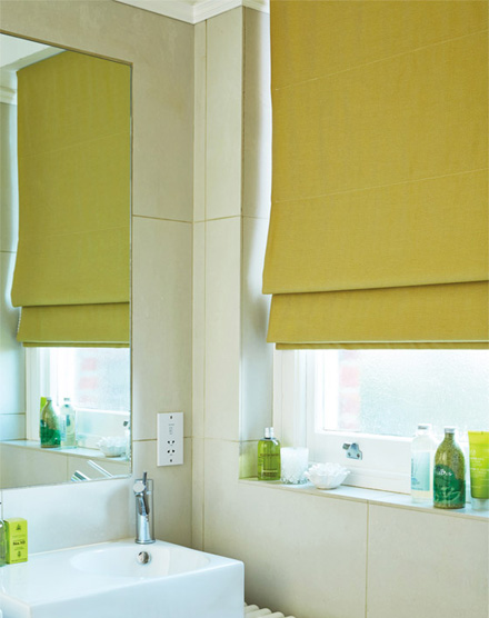 Nautral Colour Bathroom Blinds