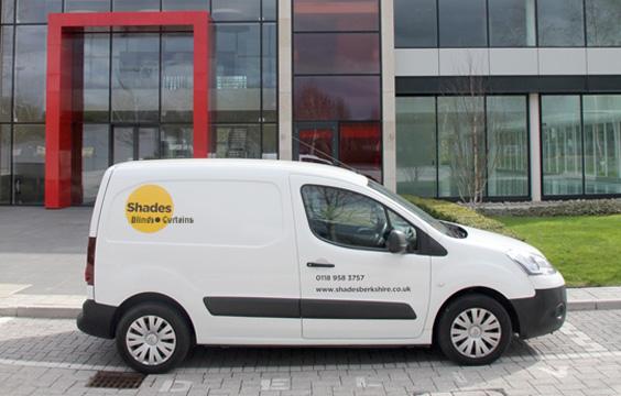 Shades Berkshire Van