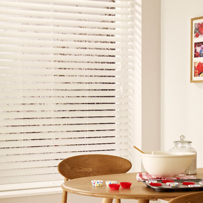 Venetian Blinds - Pure White