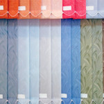 Vertical Blinds in Assorted Colours