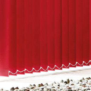 Vertical Blinds - Memphis Red